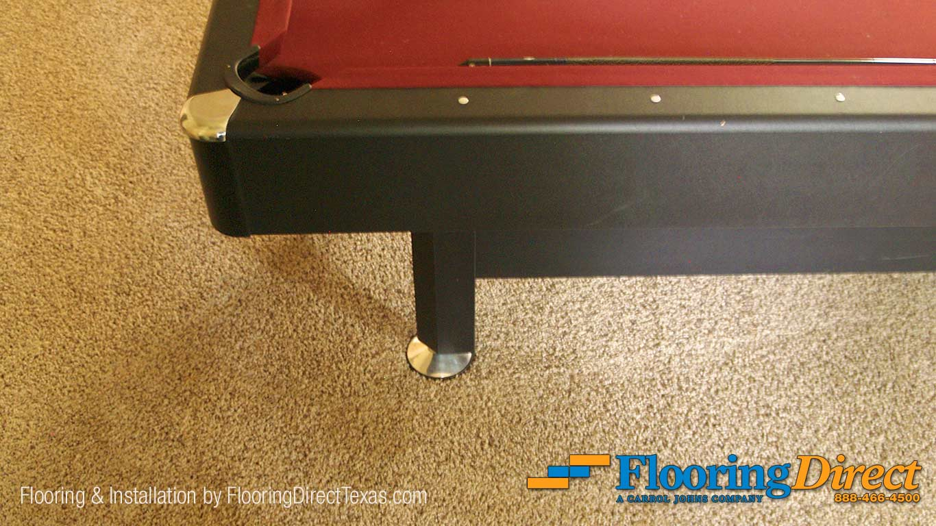 This Mathews&Parlo Carpet is solution dyed, and the color can't be faded or bleached by cleaners.