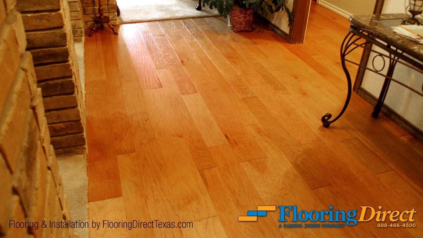 Hardwood Flooring Install by Flooring Direct Texas