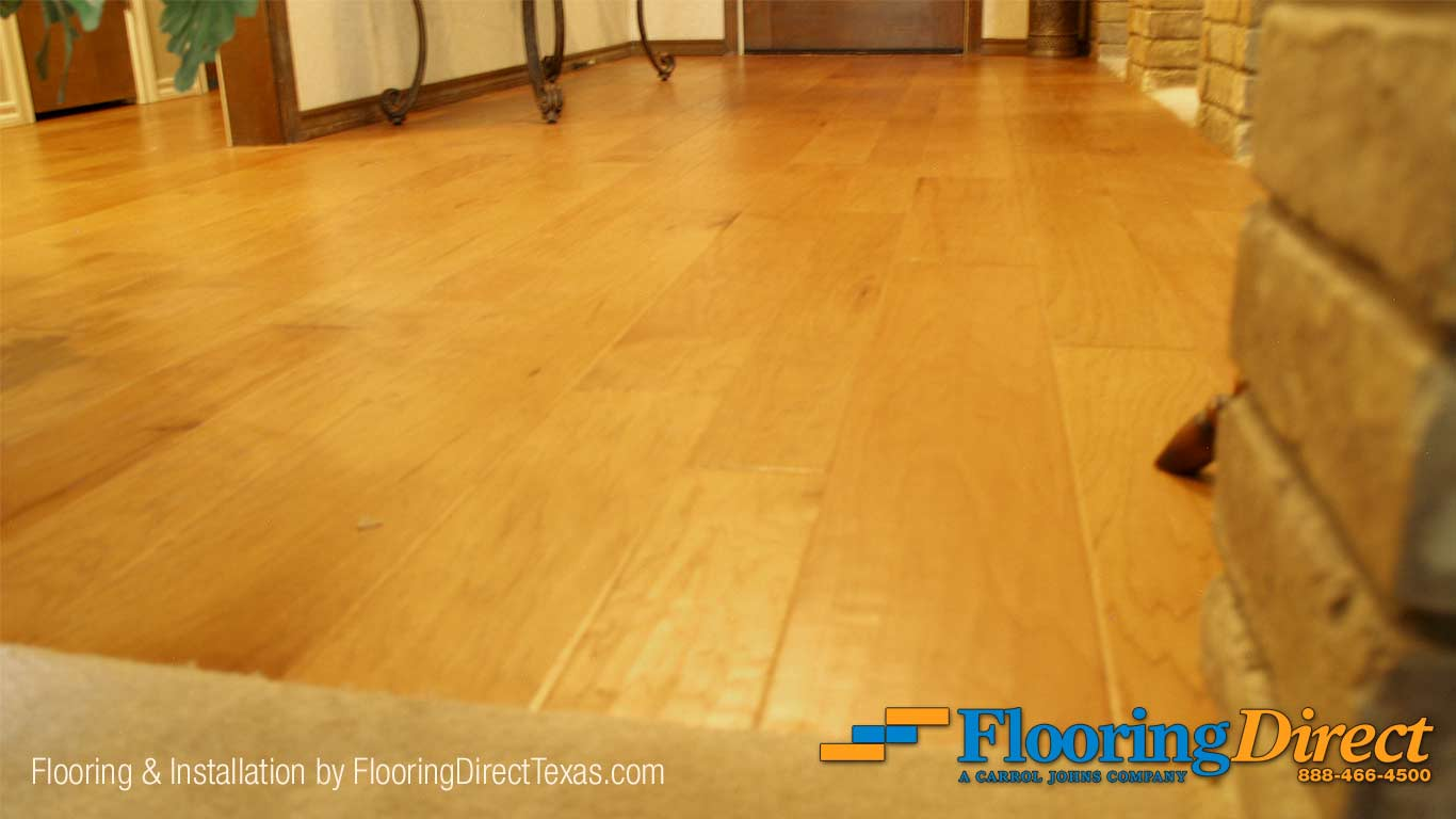Earthwerks Hardwood Flooring Install by Flooring Direct Texas