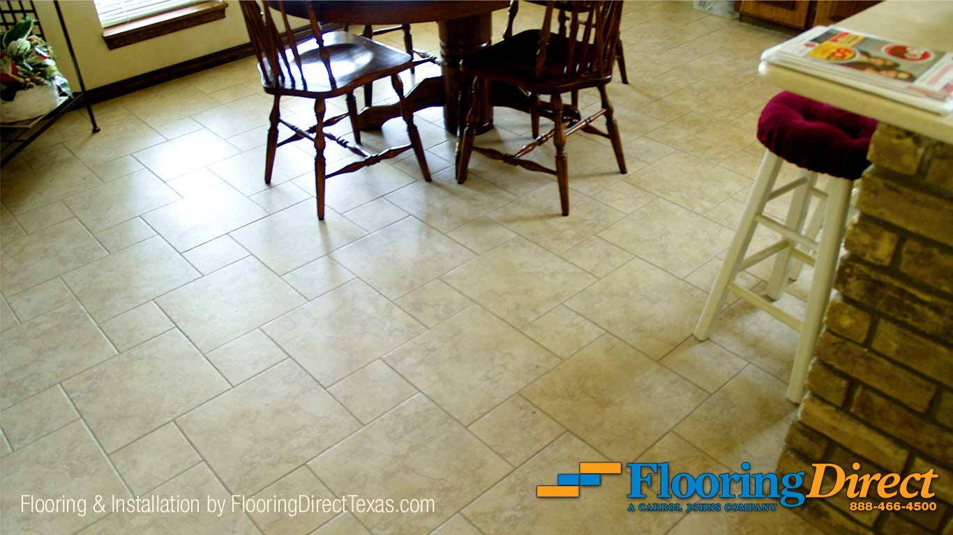 Tile Flooring Sales and Installation by Flooring Direct Texas