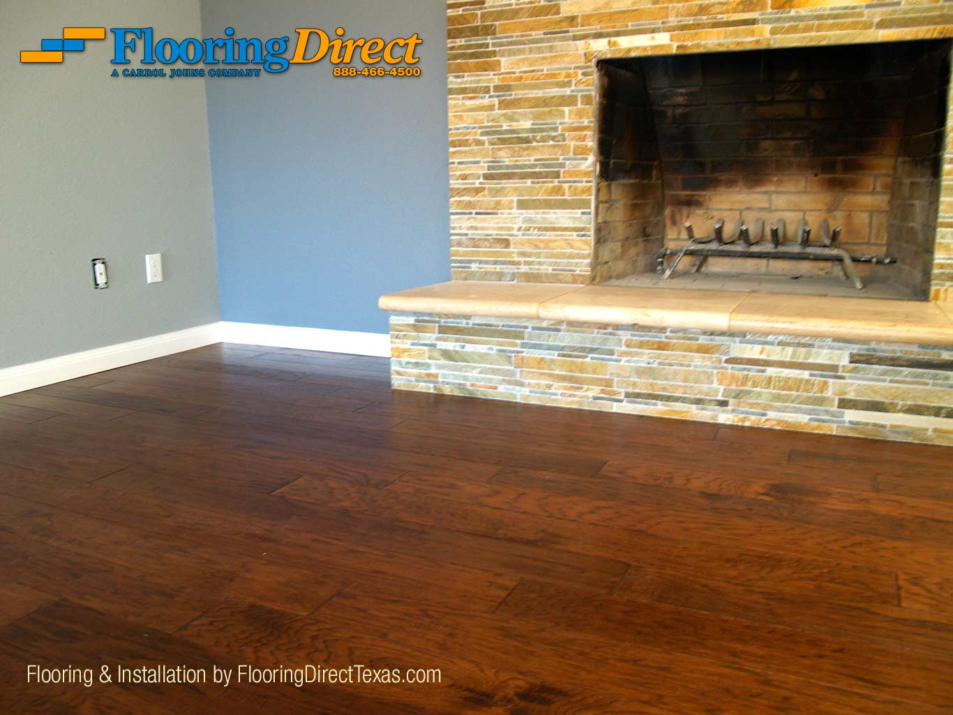 Hardwood Flooring In Plano Residence by FlooringDirectTexas.com