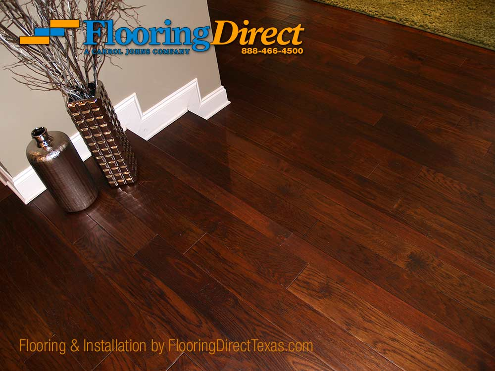 Hardwood Flooring Install In Dallas Residence By Direct