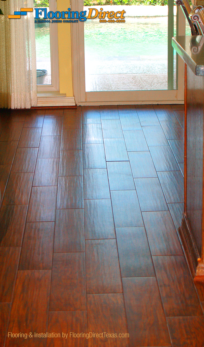 Wood look tile in arlington by flooring direct flooring for Texas floors