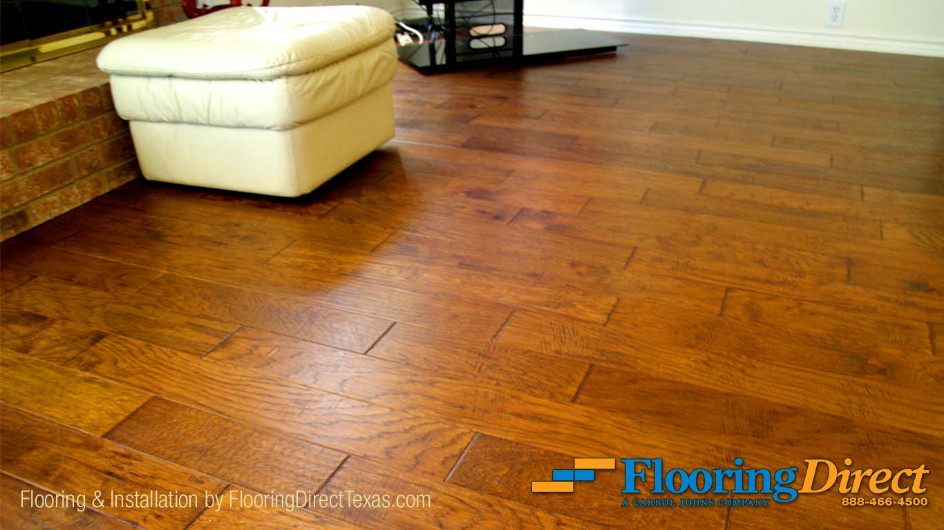 Hardwood Flooring Install in DFW by FlooringDirectTexas.com