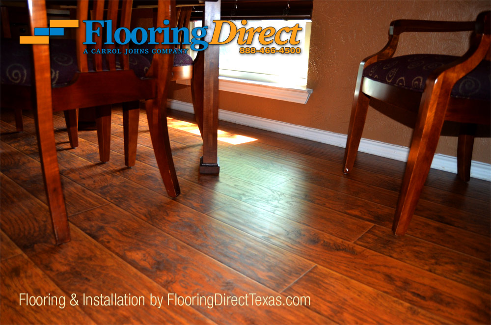 Wood Look Laminate Can Be Installed To The Same As Hardwood Floors