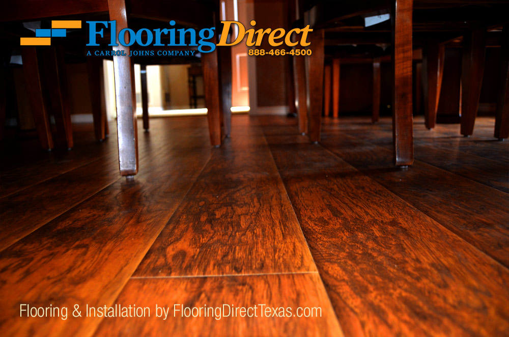Wood-Look Laminate Is Safe To Use In Moisture Prone Rooms Like Kitchen Dining And Bathrooms